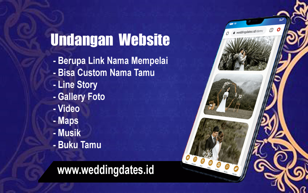 Read more about the article Jasa pembuatan undangan digital website Samarinda